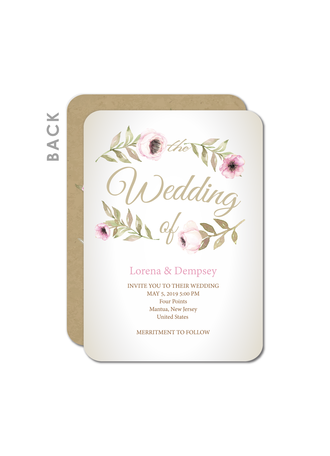 Stormy Blue Wedding Cards