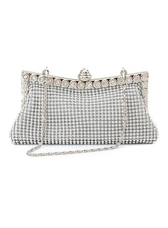 Gorgeous Satin With Beading/Rhinestone Clutches
