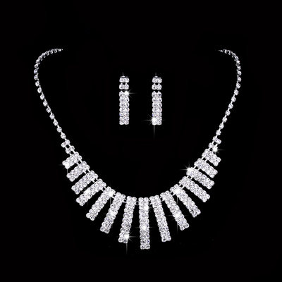 Beautiful Alloy/Copper With Rhinestone Ladies' Jewelry Sets