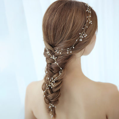 Ladies Amazing Alloy Headbands With Rhinestone (Sold in single piece)