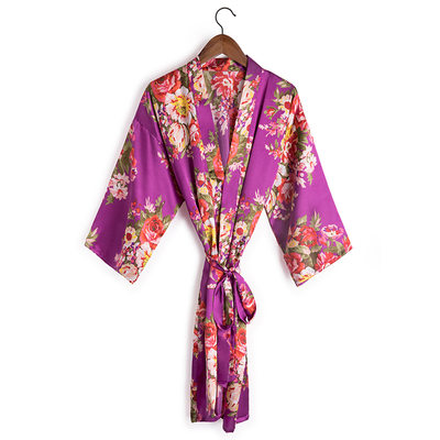 Bride Gifts - Beautiful Charmeuse Robe