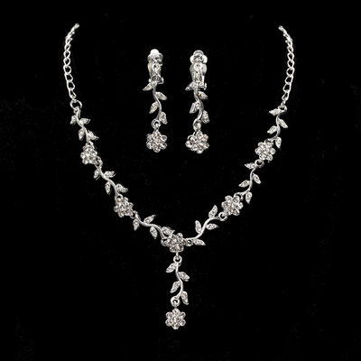 Elegant Alloy With Cubic Zirconia Ladies' Jewelry Sets