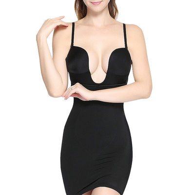 Women Sexy/Honeymoon/Night Club Polyester Breathability Slips Shapewear