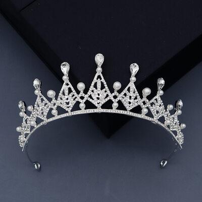 Damen Glamourös Strass/Legierung/Faux-Perlen Tiaras mit Strass (In Einem Stück Verkauft)