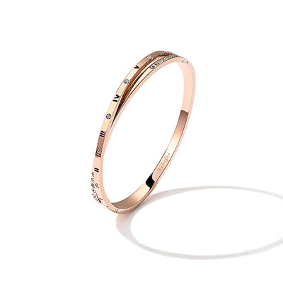 Personalized Ladies' Charming Titanium Steel Engraved Bracelets For Bride/For Bridesmaid/For Friends