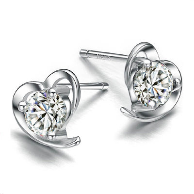 Sparking Zircon Ladies' Earrings