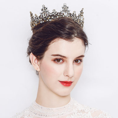 Ladies Beautiful Alloy Tiaras With Crystal