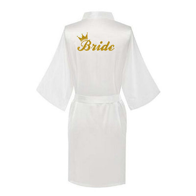 Bride Gifts - Elegant Charmeuse Robe