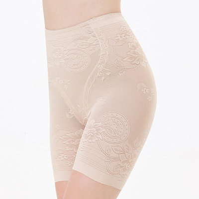 Women Feminine/Charming Chinlon Breathability/Butt Lift High Waist Shorts With Printing Shapewear