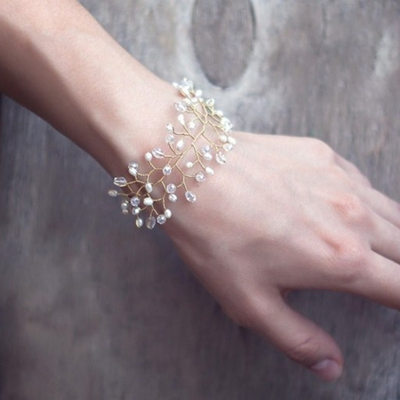 Bridesmaid Gifts - Classic Elegant Alloy Imitation Pearls Bracelet