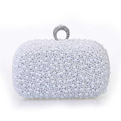 Elegant/Unique Imitation Pearl Clutches
