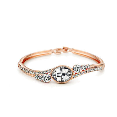 Ladies' Unique Alloy Rhinestone/Austrian Crystal Bracelets For Mother/For Friends