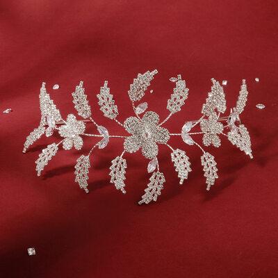 Damen Schöne Strass/Zirkon Stirnbänder mit Strass (In Einem Stück Verkauft)