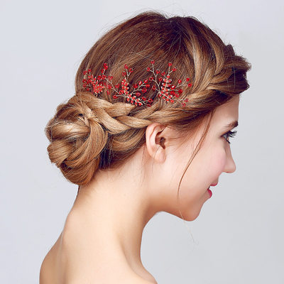 Amazing Crystal/Alloy Hairpins(Sold in single piece)