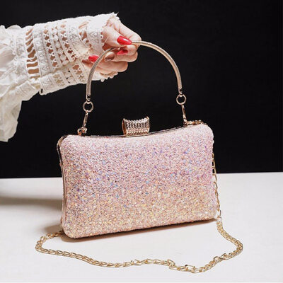Unique/Charming/Shining/Bright Sparkling Glitter Evening Bags