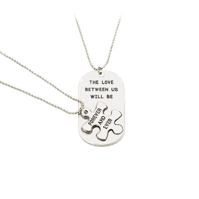Bride Gifts - Simple Alloy Necklace