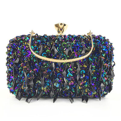 Elegant/Unique/Shining Sequin/Polyester Clutches