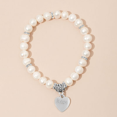 Personalized Child's Personalized Pearl Bracelets For Bridesmaid/For Friends