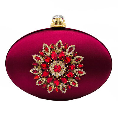 Charming/Pretty Polyester Clutches/Bridal Purse/Evening Bags