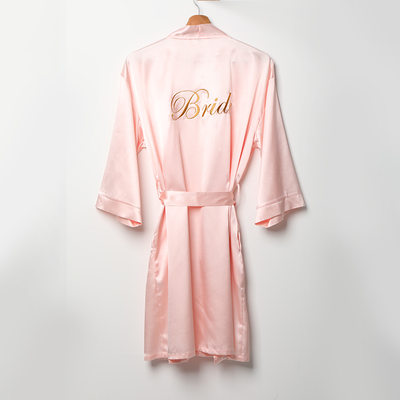 Bride Gifts - Charmeuse Robe
