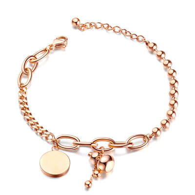 Delicate Chain Charm Bracelets Chain Bracelets - Valentines Gifts For Her