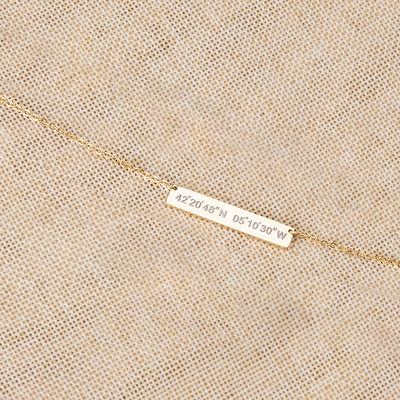 Bridesmaid Gifts - Personalized Beautiful Classic Necklace