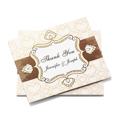 Personalized Artistic Style Thank You Cards
