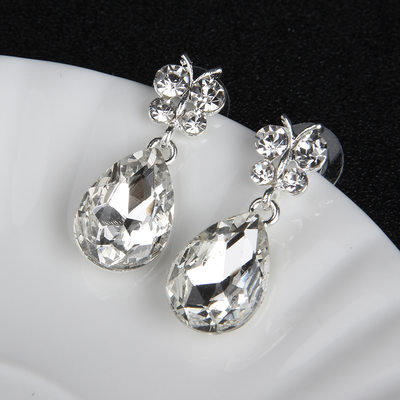 Unique Alloy/Rhinestones With Rhinestone Ladies' Earrings