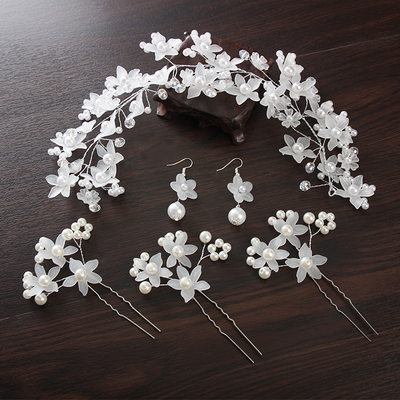 Gorgeous Alloy Hairpins/Headbands (Set of 4)