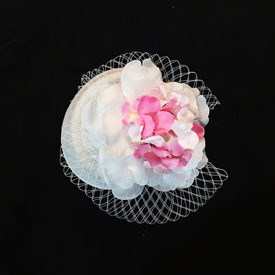 Ladies Elegant Artificial Silk/Tulle Flowers & Feathers