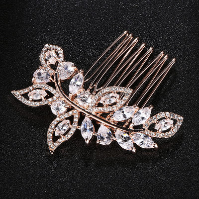 Crystal/Alloy Combs & Barrettes (Sold in single piece)