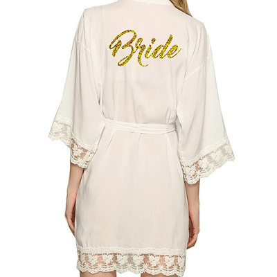 Bride Gifts - Sexy Classic Satin Robe