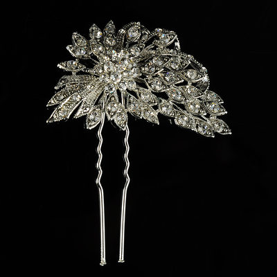 Ladies Beautiful Rhinestone/Alloy Hairpins