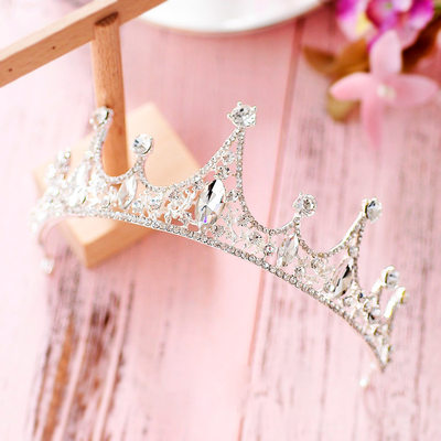 Ladies Lovely Crystal/Rhinestone/Alloy Tiaras With Imitation Crystal