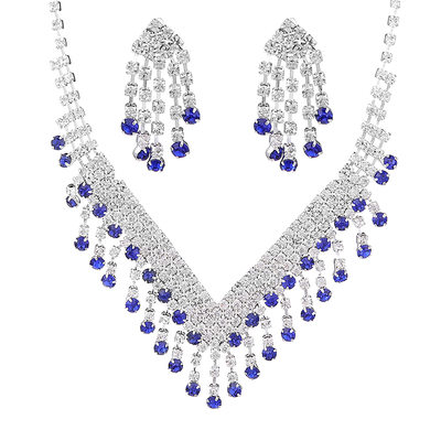Ladies' Shining Rhinestones Jewelry Sets For Bridesmaid/For Mother