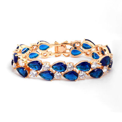 Vintage Alloy/Zircon Ladies' Bracelets