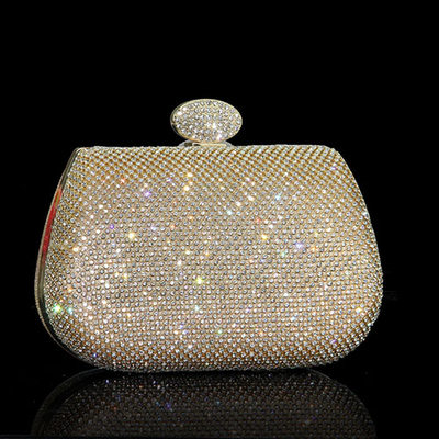 Shining Crystal/ Rhinestone Clutches/Wristlets/Satchel