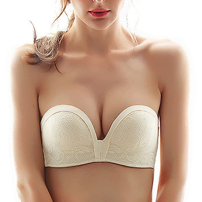 Cotton/Spandex/Nylon Wireless Bra/Nipple Covers