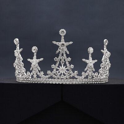 Damen Prächtig Strass/Legierung Tiaras mit Strass/Kristall (In Einem Stück Verkauft)