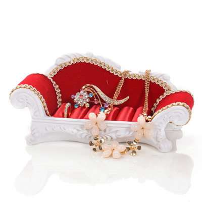 Bride Gifts - Elegant Velvet Jewelry Holder (Sold in a single piece)