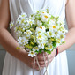 Lovely Round PE/Silk linen Bridesmaid Bouquets