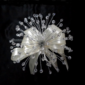 Elegant Round Satin/Crystal Bridesmaid Bouquets -