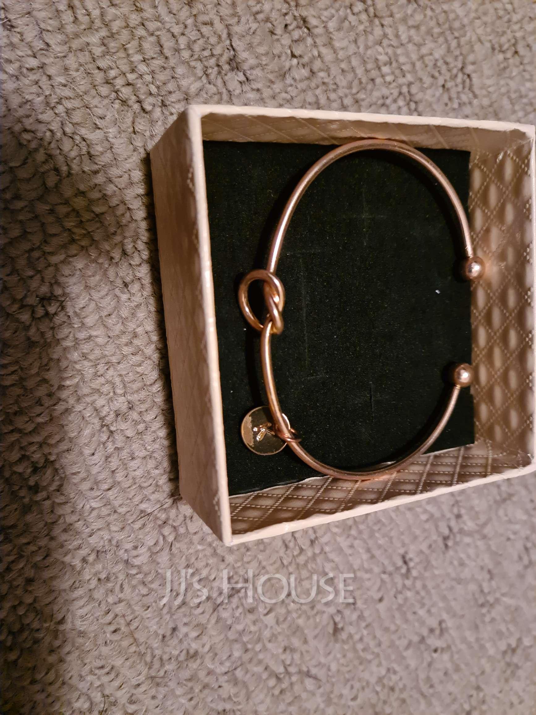 Elegant Alloy Initial Bracelets Bracelets For Bride/For Bridesmaid